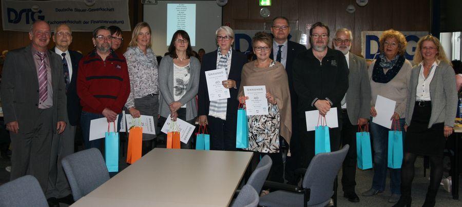 Deutsche Steuer Gewerkschaft Nordrhein Westfalen Dstg Vor Ort Jahreshauptversammlung In Dortmund Unna
